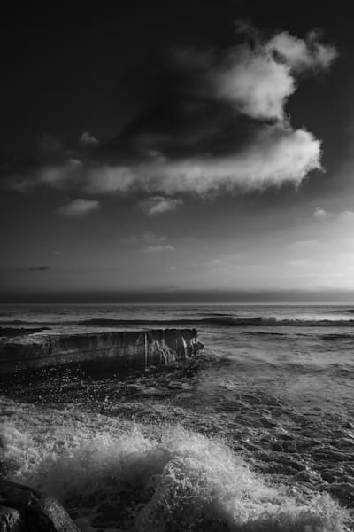 Waves V Clouds, San Diego Photography Art | Rinenbach Photography