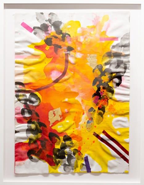 Sun Flag (Framed) Art | Makiko Harris Art