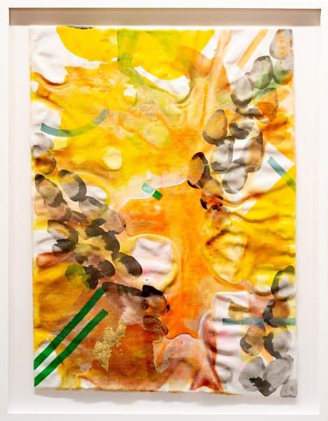 Gold Dusk (Framed) Art | Makiko Harris Art