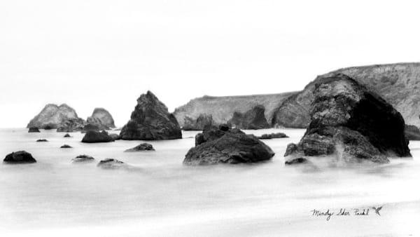 Black And White Seaside Photography Art | Mindy Fine Art Photography