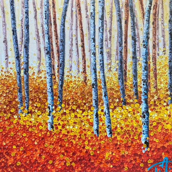 Fanta Forest   Oil Embellished Giclée Art   Tessa Nicole Art