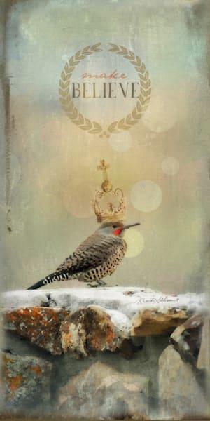 Make Believe Flicker Bird Art