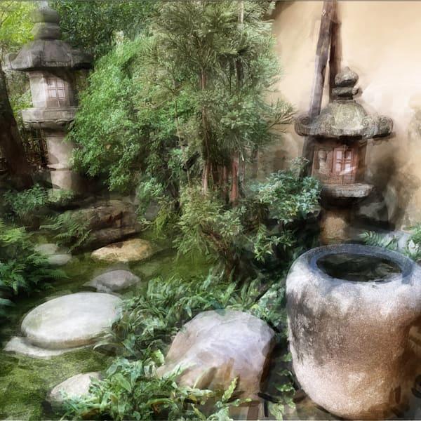 Personal Garden In Japan Photography Art   Carol's Little World