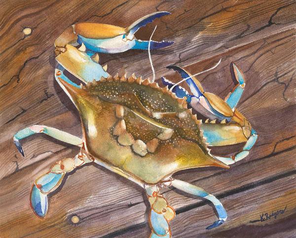 Mr. Blue  Art   Katherine Rodgers Fine Art