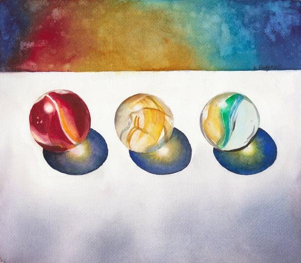 Marble Galaxy  Art | Katherine Rodgers Fine Art