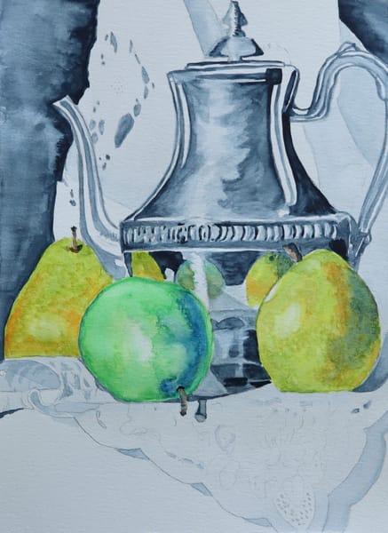 Tea Kettle Still Life Art   InspiringLee