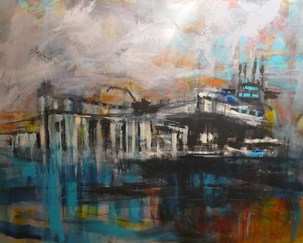 Dock Of The Bay Art | Carmen Gambrill Art