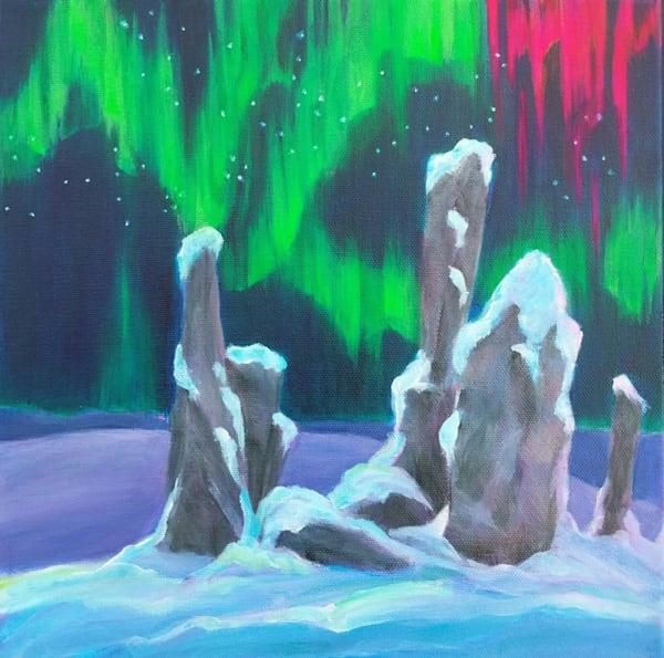 Northern Sentinels Art   Lesley McVicar Art