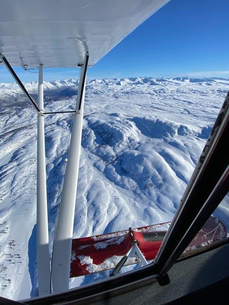 Ski Flying Fun Photography Art | Visionary Adventures, LLC