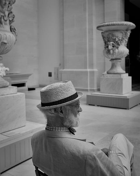 Connoisseur At The Met Photography Art | Ed Lefkowicz Photography