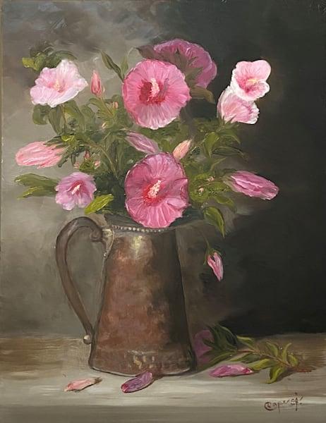 Rose Of Sharon In August Art   Mid-AtlanticArtists.com