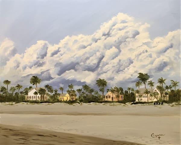 Beach Houses On The Gulf Art   Mid-AtlanticArtists.com