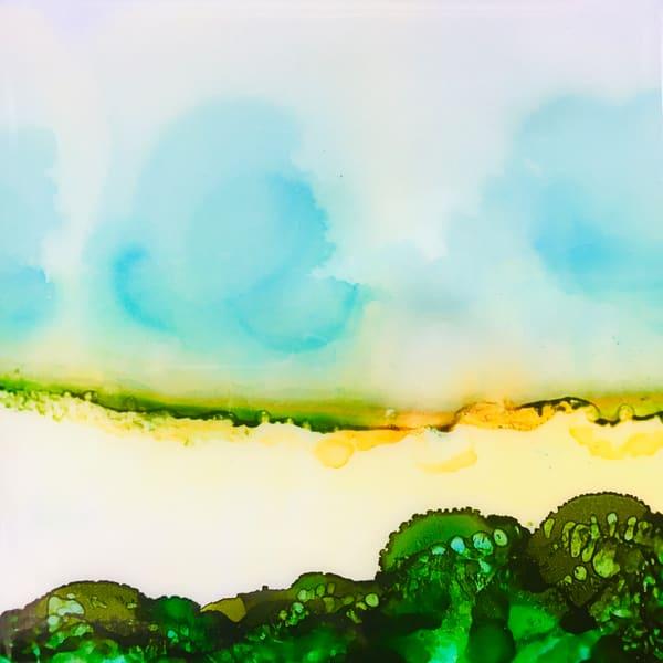 Meadow Triptych 2 Art | Sandy Smith Gerding Artwork