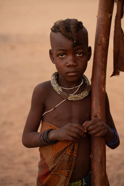 Himba Boy Photography Art | nancyney