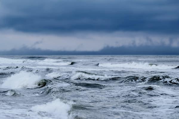 Stormy Seas Photography Art | Silver Sun Photography