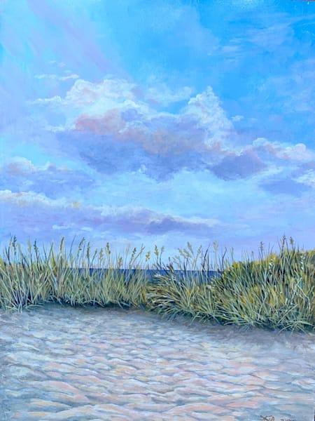 Lisa's Beach Art   Skip Marsh Art