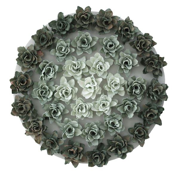 Mandala Verde Art | Lauren Naomi Fine Art