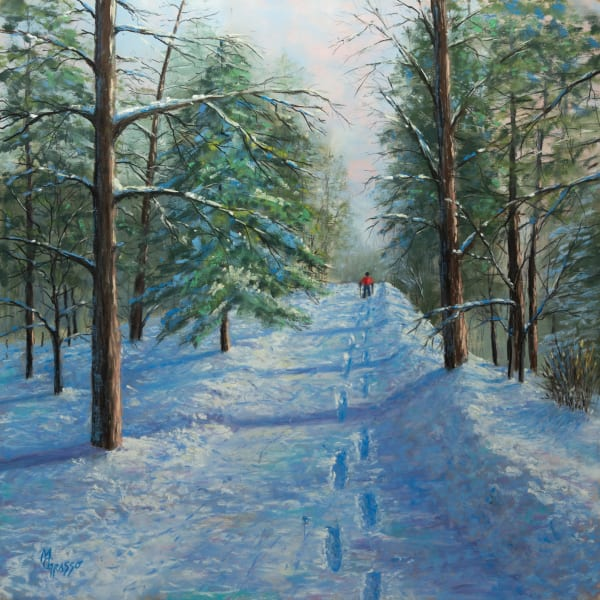 A Walk Through Winter Art | Mark Grasso Fine Art