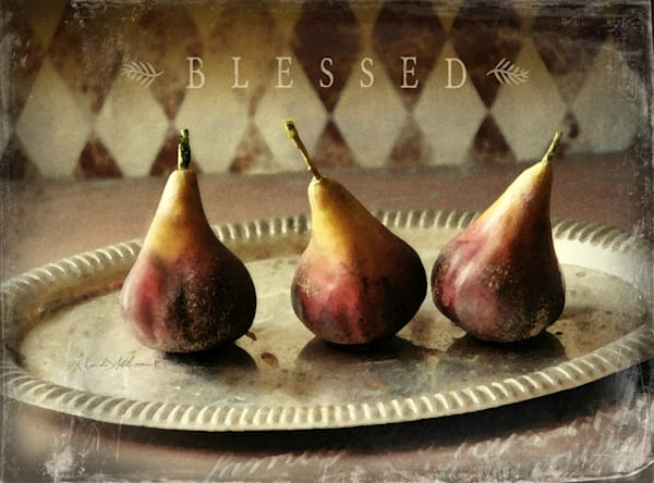 RED PEARS Blessed Art