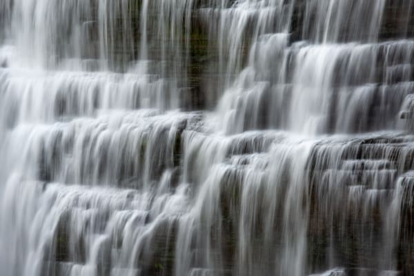A Thousand Little Waterfalls Letchworth Middle Falls Photography Art   Robert Vielee Photography