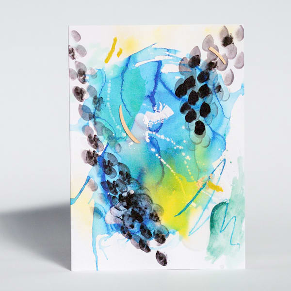 Greeting Card   Terrene | Makiko Harris Art