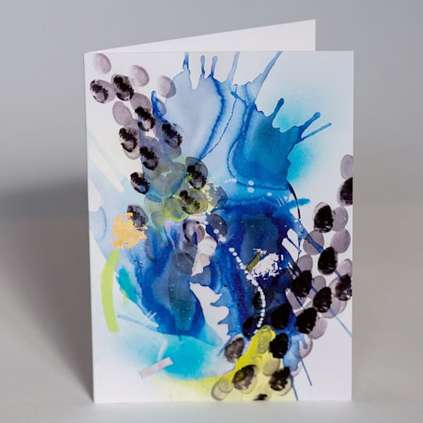 Greeting Card   Oceanic | Makiko Harris Art