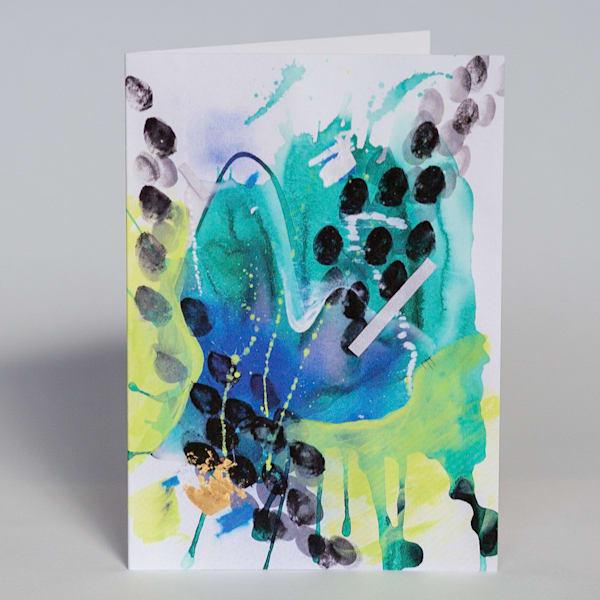 Greeting Card   Herbivore | Makiko Harris Art