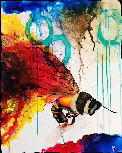 Bee Art | Michael Bruley Studio