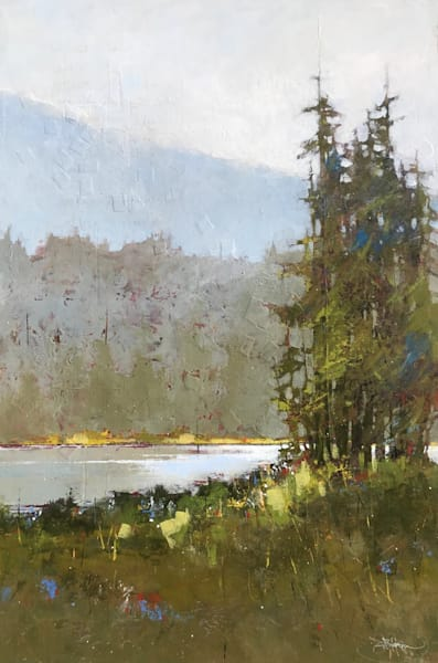 The Trail, original artwork by Sarah B Hansen
