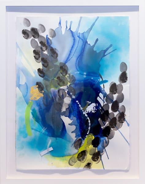 Oceanic (Framed) Art | Makiko Harris Art