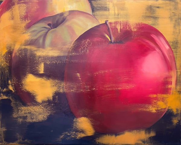 Red Apple Art | L3 Art Decor