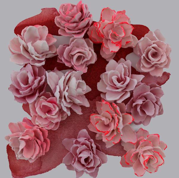 Cb Edgy Pink1 Art | Lauren Naomi Fine Art