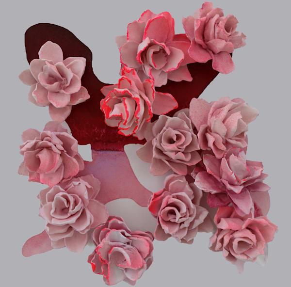 Cb Edgy Pink Art | Lauren Naomi Fine Art