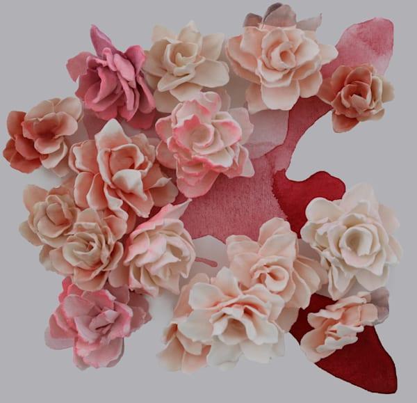 color block bouquets