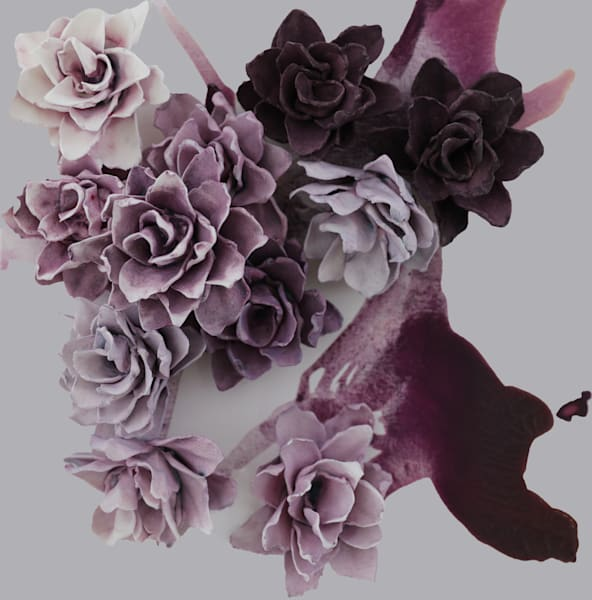 Cb Purple Velvet Art | Lauren Naomi Fine Art
