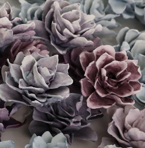 Apatite And Purpurite Macro Art | Lauren Naomi Fine Art
