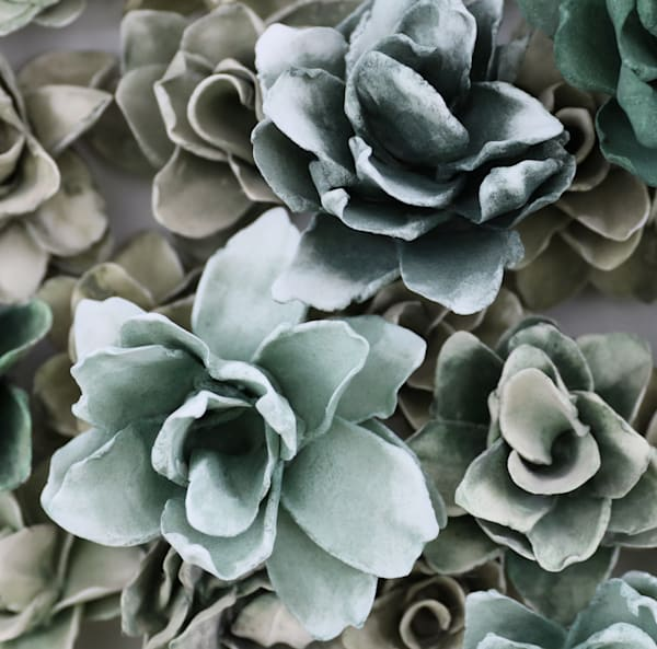 Multi Verde Macro Art | Lauren Naomi Fine Art