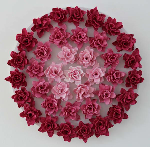 Rosy Mandala Art | Lauren Naomi Fine Art