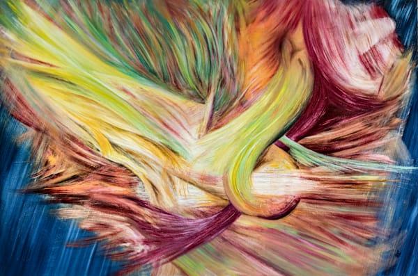 "Endless Motion No.2, PRINT (original Oil on Canvas 40""x60"" )"