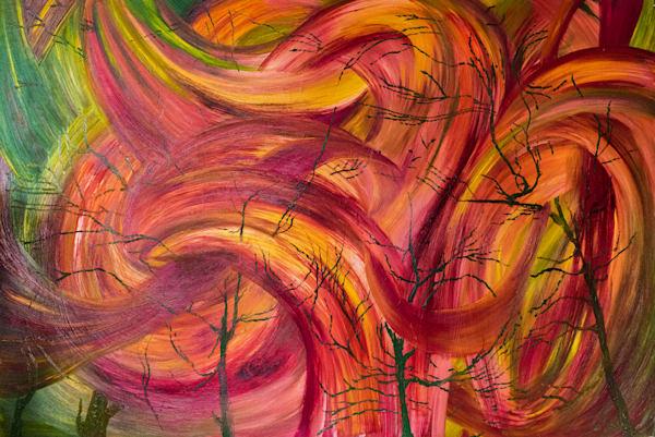 "Endless Motion No. 3, PRINT (original Oil on Canvas 40""x60"" )"