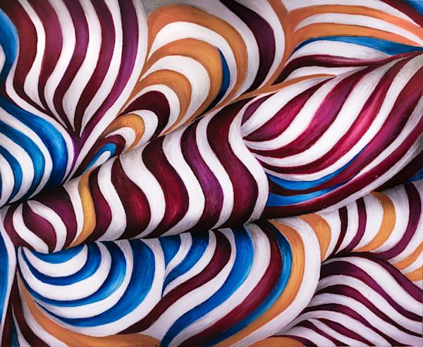 "Endless Motion No.7, PRINT (original Oil on Canvas 24""x30"" )"