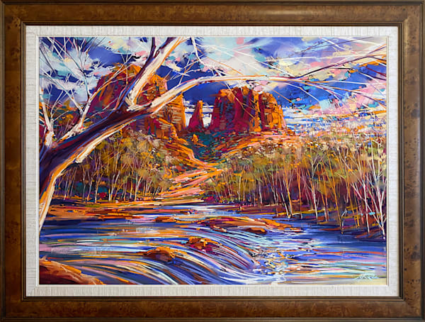 Cathedral Rock Blue Art | Michael Mckee Gallery Inc.