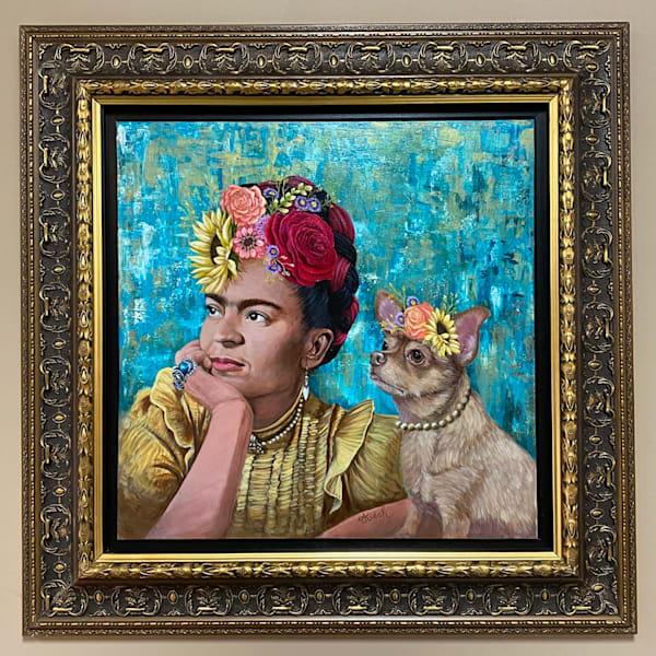 Frida And Dani Art   alanajudahart