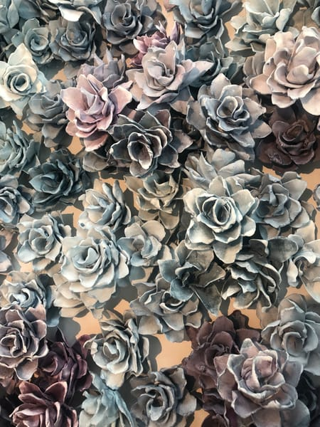 Apaptite And Purpurite Detail4 Art | Lauren Naomi Fine Art