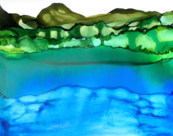 Flora Above Art | Sandy Smith Gerding Artwork