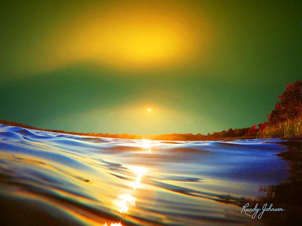 Aqueous Florida Sunset Art | Randy Johnson Art and Photography