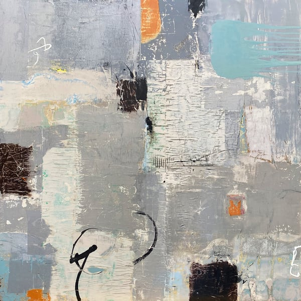 Equilibrium abstract painting L3 Art sale