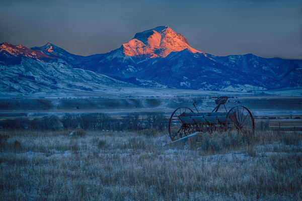 Red Red Mountain Photography Art | Monty Orr Photography