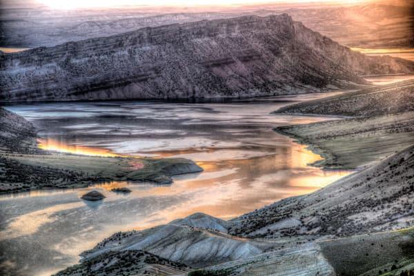 Flaming Gorge Sunrise Photography Art | Monty Orr Photography