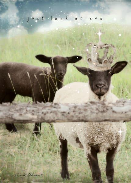 Crowned Sheep Art